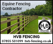 HVB Fencing (Cheshire Horse)