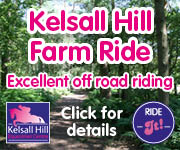 Kelsall Hill Farm Ride (Cheshire Horse) New