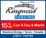 Ringwood Fencing November 2019 (Cheshire Horse)